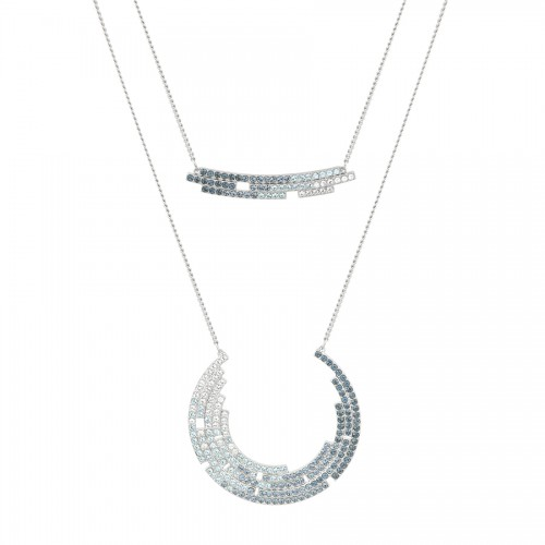 Fluidity Crystal Necklace